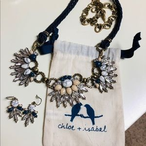 Chloe + Isabel Jewelry - Necklace & Earring Set (adjustable)